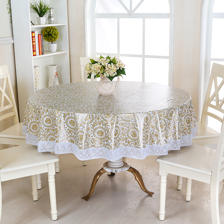 Aliexpress.com : Buy Waterproof Wipe Clean Round PVC Vinyl Tablecloth  Dining Kitchen Table Cover Protector OILCLOTH VINYL FABRIC CR 975 From  Reliable Pvc ...