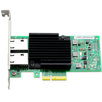 UNICACA AN8550 T2 X550 T2 RJ45*2 PCIe 3.1 X8 10G Network adapter Chipset Intel X550