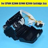 1 PC 100% Original NOVO USB Cartucho Assy Para EPSON F186000 R2400 Assy Do Cartucho Para Impressora Epson R1800 R1900 R2000 R2880 impressora|original cartridges|epson f186000|epson r2000 -