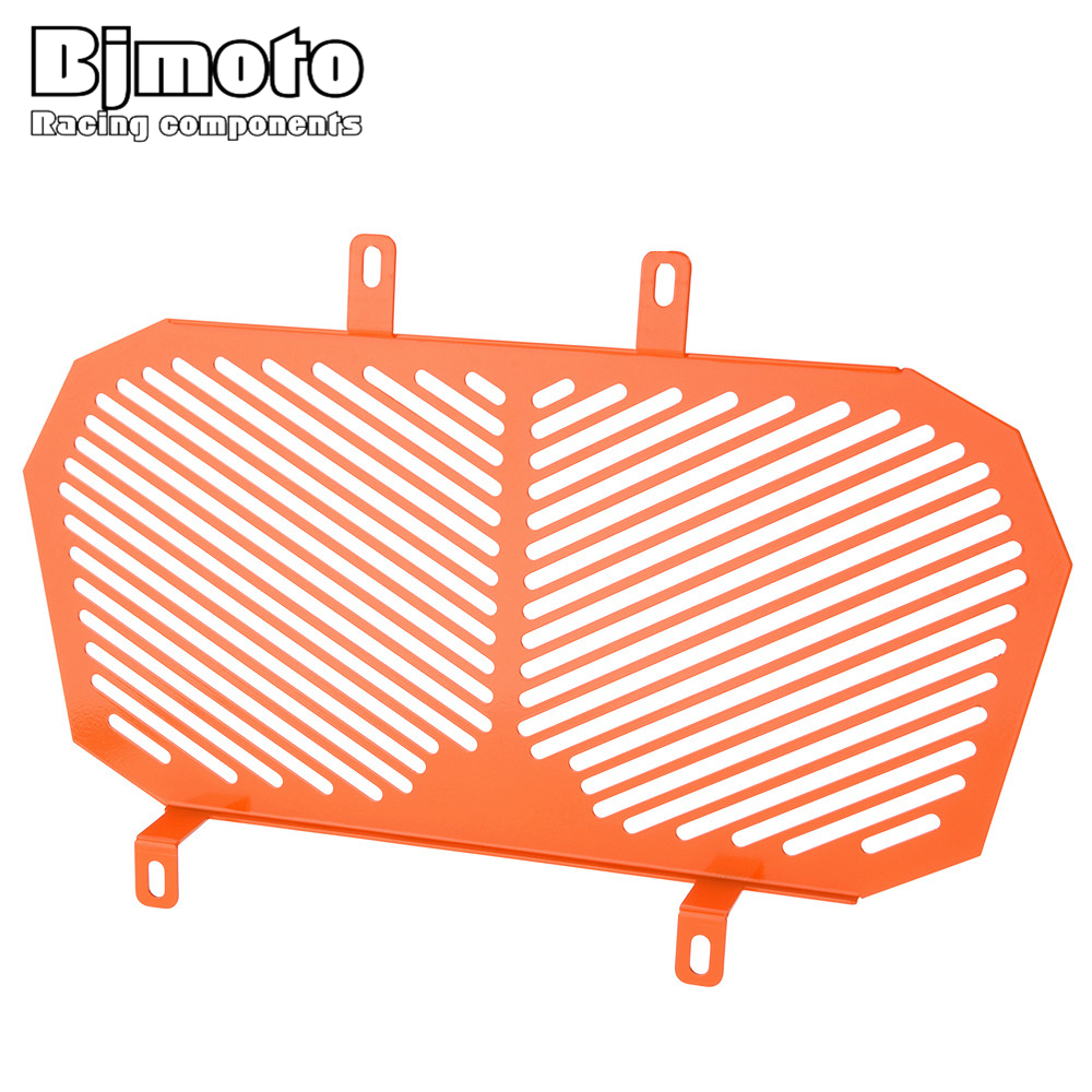BJMOTO Aluminum Motorcycle Radiator Guard Protector Grille Grill Cover For KTM DUKE 125 200 racing grills version aluminum alloy car styling refit grille air intake grid radiator grill for kla k5 2012 14