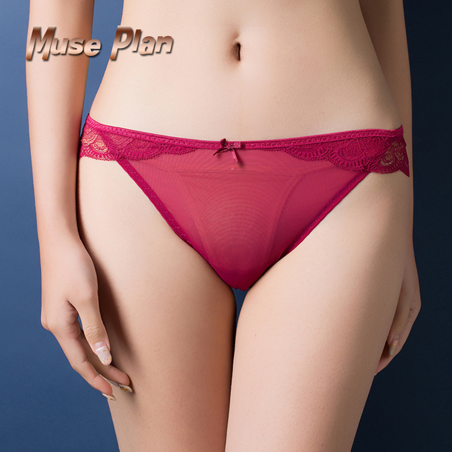 Sexy Lace Panties Low Waist Cotton