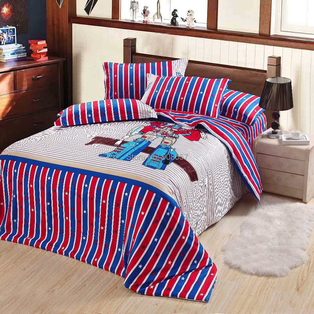 Popular Transformers Queen Bedding Buy Cheap Transformers