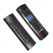 MX3 USB 2.4G Wireless Air Mouse T3 Smart Remote Control Support Voice Chat and Gyro Sensing Games for WIN /Linux /Android TV Box mx3 2 4g kodi remote