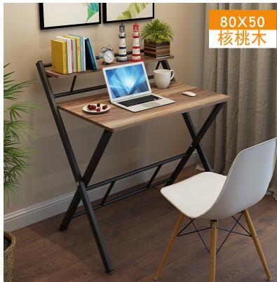 Купить с кэшбэком Folding simple home desktop notebook office computer learning student desk simple writing desk.