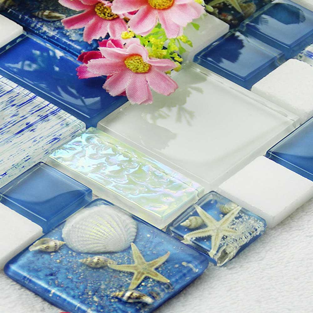 Online kopen Wholesale crystal mozaïek tegel uit China ...