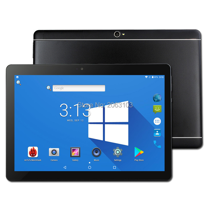 2018 Free shipping 10 inch Tablet PC Octa Core 4GB RAM 64GB ROM Dual SIM Cards 3G WCDMA Android 7.0 GPS WiFi 10 10.1 +Gifts free shipping 10 inch tablet pc octa core 4gb ram 32gb 64gb rom dual sim cards android 6 0 gps tablet pc 10 10 1 gifts
