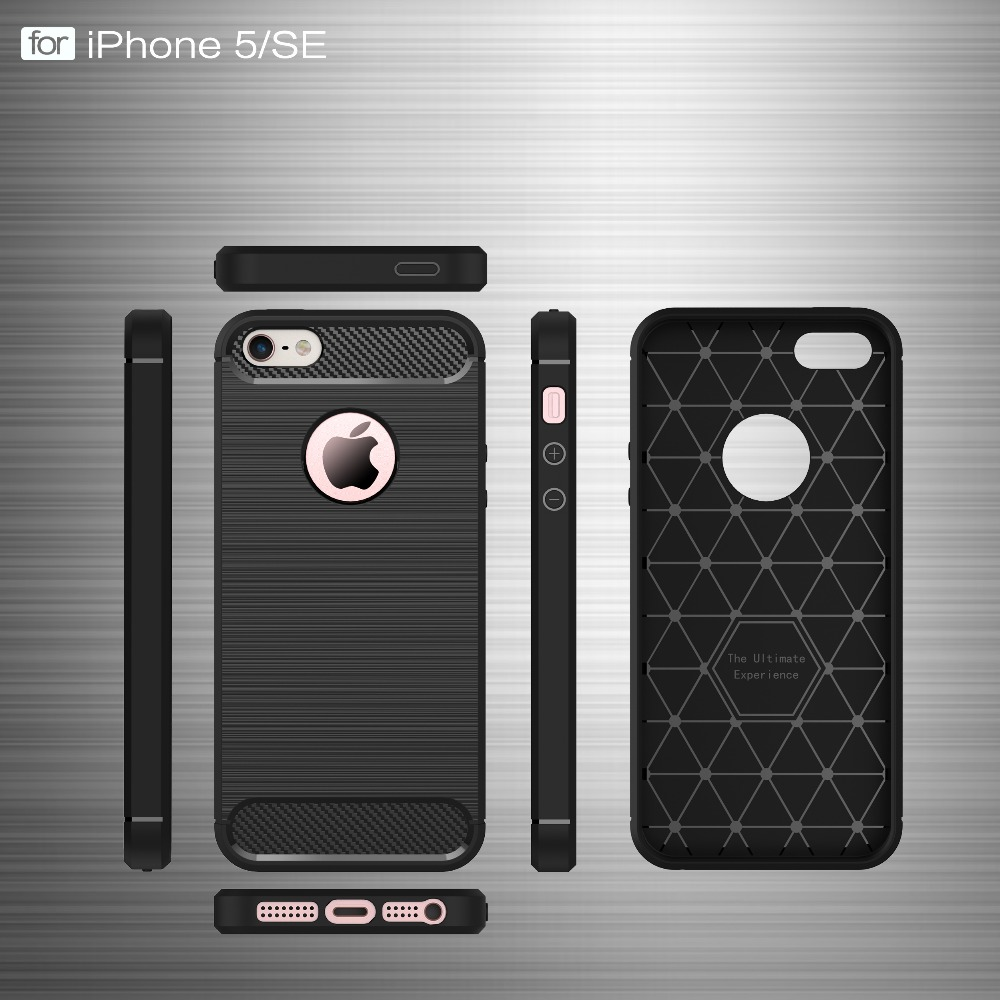 Ծածկոցներ iphone 5s- ի համար 6 6s 6s 7 Plus - Բջջային հեռախոսի պարագաներ և պահեստամասեր - Լուսանկար 2