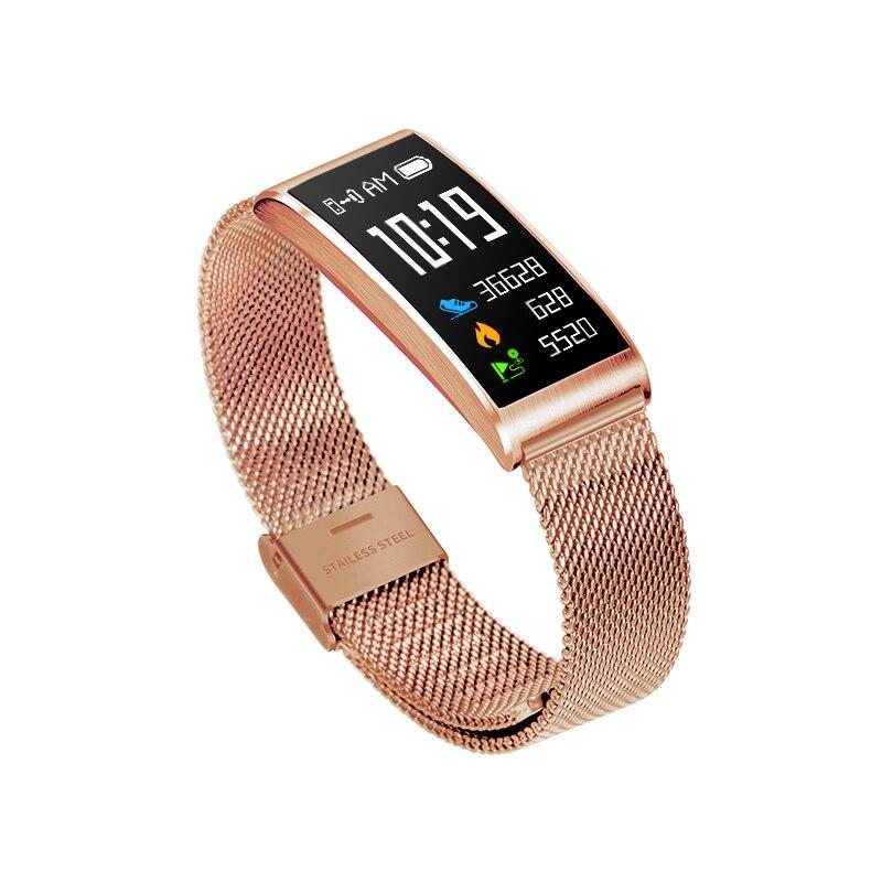 Gps smart watch женщин X3 IP68 Водонепроницаемый смарт-фитнес-браслет шагомер браслет Android iOS фитнес-трекер reloj mujer saat