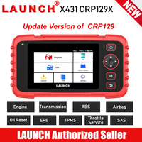 LAUNCH X431 CRP129X Car Diagnostic Tool Auto Scanner OBD2 Automotive Scan Diagnoses Engine ABS SRS AT PK CRP129E Creader VIII