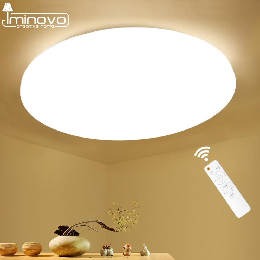 Moderne LED Plafonnier Luminaire Lampe Surface Mount Salon Chambre Salle De Bains Télécommande Décoration de La Maison Cuisine