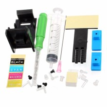 Continuous Ink Supply System Universal 4Color CISS kit accessaries ink tank for HP For Canon Printers Drill Pumping ink folder