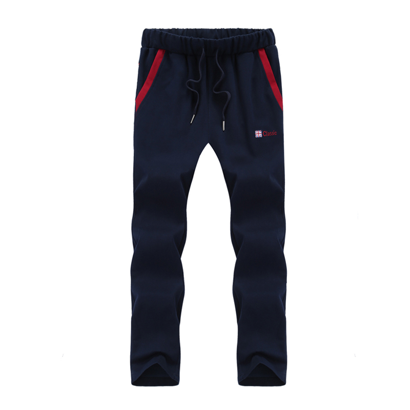 Plus Size 7XL 8XL Straight Sportswear Pants Mens Tracksuit Casual Sweat Pants Male Sweatpants Long Trousers Jogger Pants Men
