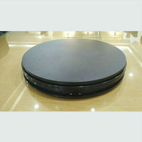 350X60MM Stable Heavy Load Electric Turntable Display Stand 360 Degree Sliver Color 50 90 180 Secs
