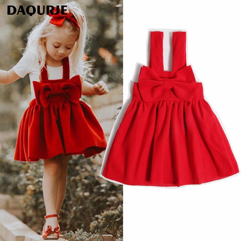 99b8c6732a DAQURJE Casual Girls Dress Brand Suspender Kids Dresses For Girl ...