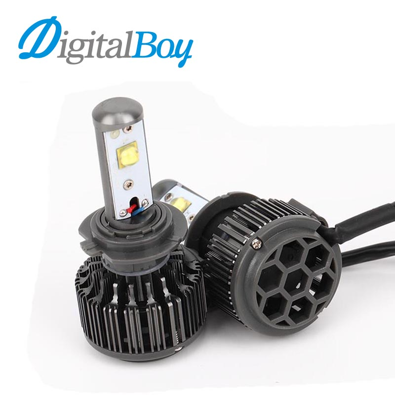 Digitalboy LED Car Headlight H7 LED Bulb 60W 7200lm 6000K Auto Car Headlamp Fog Light Bulbs for Toyota/Renault/VW/Hyundai/Kia  1pair h8 h9 h11 car led headlight bulb cob 72w 8000lm car led fog lights auto led headlamp bulbs for vw hyundai toyota kia honda