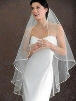 Hot Selling 1 LAYER Cheap White Ivory Wedding Veils Short Bridal Wedding Accessories Veil Bridal Veil