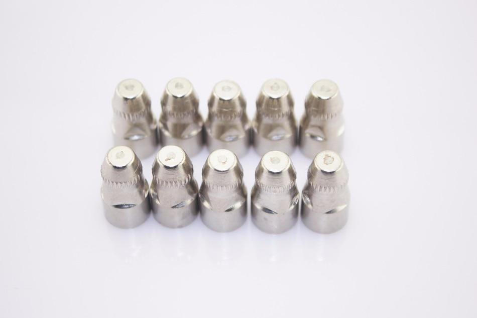 Tools : P80 Inverte Plasma Cutter Cutting Gun Plasma Consumable Cutting Torch Accessories Nozzle tips Electrode CNC Cutting knife 110PK