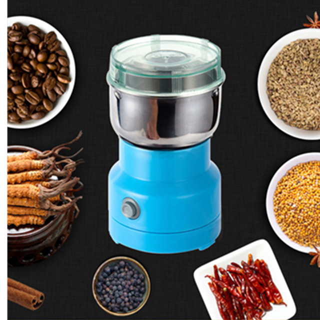 Mini Electric Food Chopper Processor Mixer Blender Pepper Garlic Seasoning Coffee Grinder Extreme Speed Grinding Kitchen Tools 1