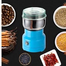 Mini Elektrische Lebensmittel Chopper Prozessor Mixer Mixer Pfeffer Knoblauch Gewürz Kaffeemühle Extreme Geschwindigkeit Schleifen Küche Werkzeuge
