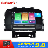 Android 9.0 car Radio DVD Navigation Player For Opel Vauxhall Astra J 2010 2013 Auto GPS Video WIFI Multimedia Stereo 4G RAM