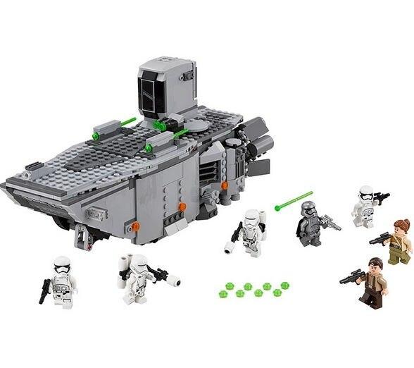 ФОТО LEPIN Star Wars First Order Transporter Figure Toys building blocks set marvel