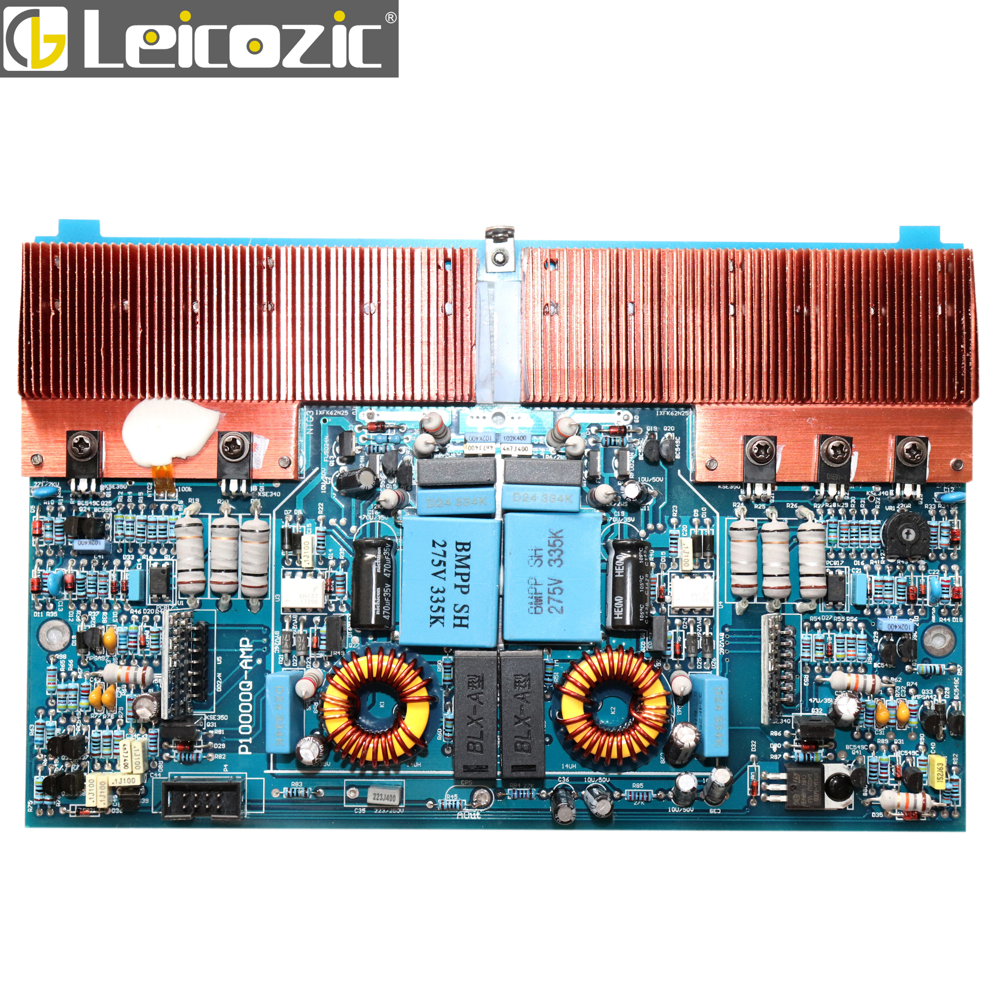 Leicozic Audio Amplifier Channel Card For 10000q Switching Channel Board Amplifier Audio Main Board 4 Channel Amplifiers 2500w*4