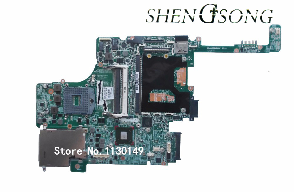 Free shipping for HP 8560W Motherboard 652638-001 Intel QM67 DDR3 Green Model 100% fully tested 744008 001 744008 601 744008 501 for hp laptop motherboard 640 g1 650 g1 motherboard 100% tested 60 days warranty
