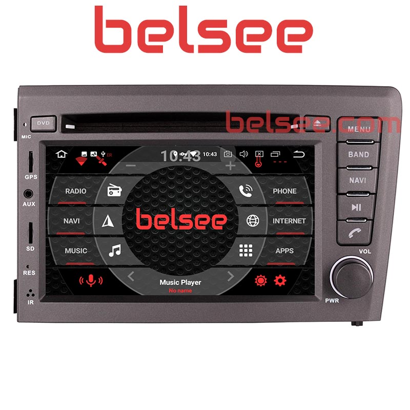 Belsee for <font><b>Volvo</b></font> V70 <font><b>S60</b></font> XC70 2000-2004 Android 8.0 Octa Core Car <font><b>Radio</b></font> 4GB Stereo Bluetooth GPS Navigation Autoradio DVD Player image