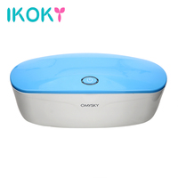 IKOKY Sterilization and Disinfection Adult Product for Sex Toys UV Disinfection Box for Vibrators Eggs Dildo Masturbator Device