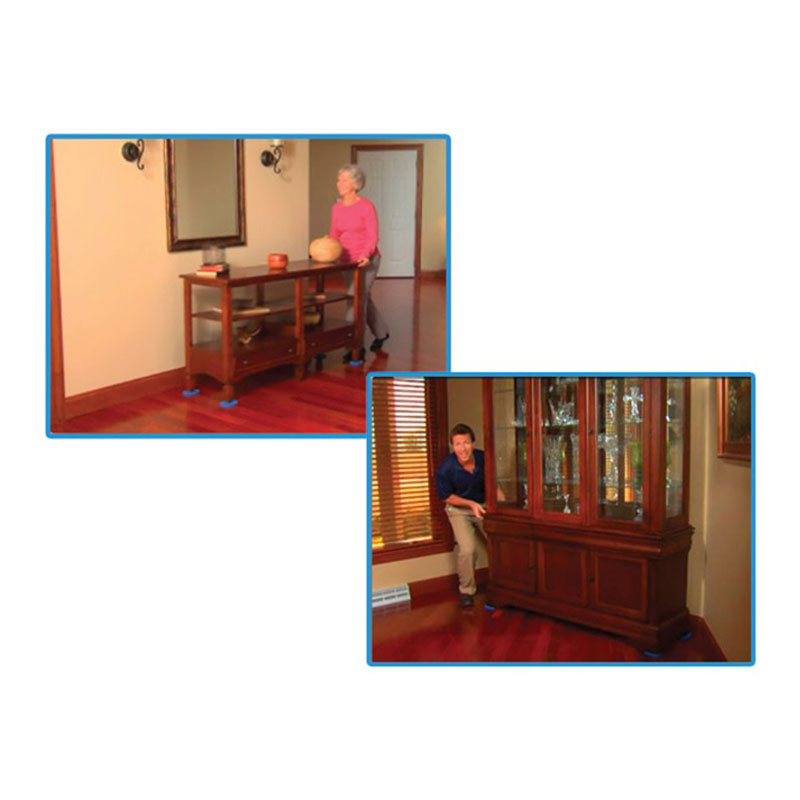 Reusable Furniture Movers EZ Moves For Heavy Furniture For Carpeted  Surfaces Glide Moving Kit