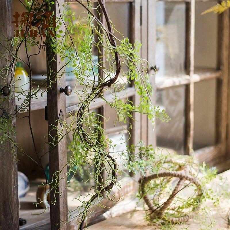 colgantes artificial periploca forrestii schlechter rota helecho hojas pared ivy garland boda de la vid home