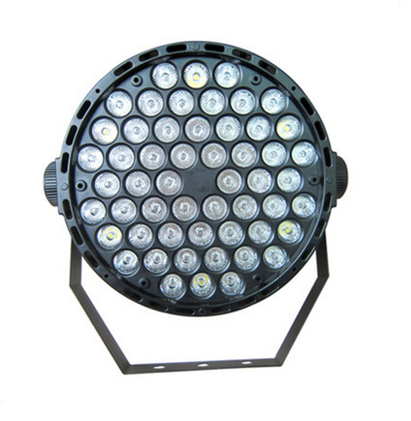 Led Par Lamp 54w RGB LED Stage Par Light  Wash Dimming Strobe Lighting Effect Lights for Disco DJ Party Show US Plug EU Plug dmx512 127 led rgb effect light stage light for disco dj party show black eu plug ac 90 240v