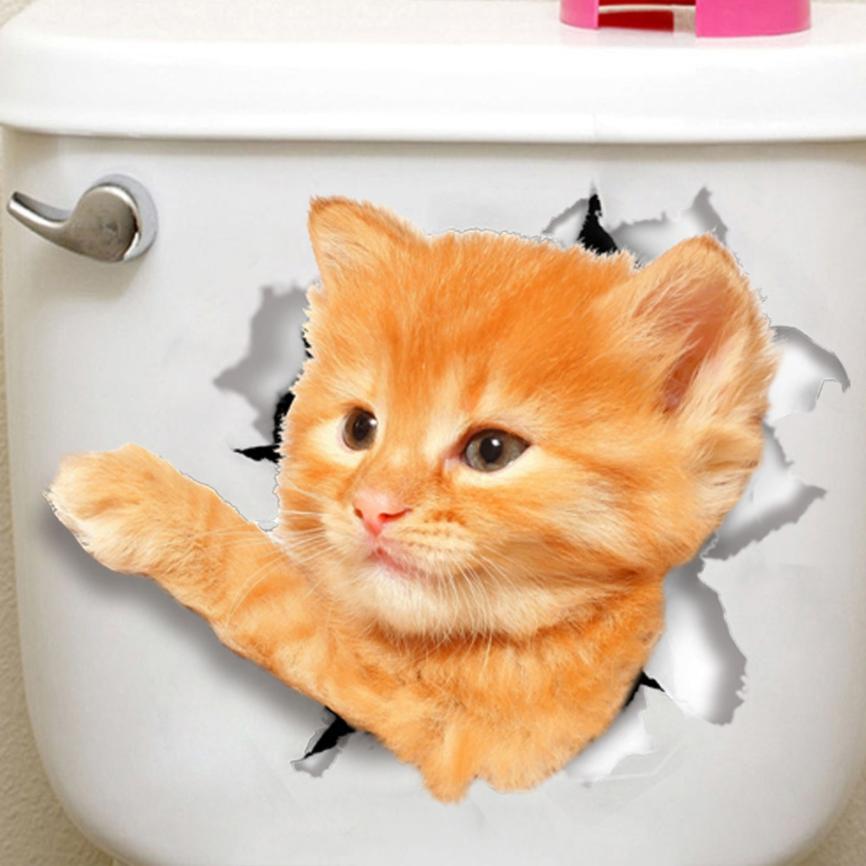 Aliexpress.com : Buy New Qualified 3D Cute Cat Wall