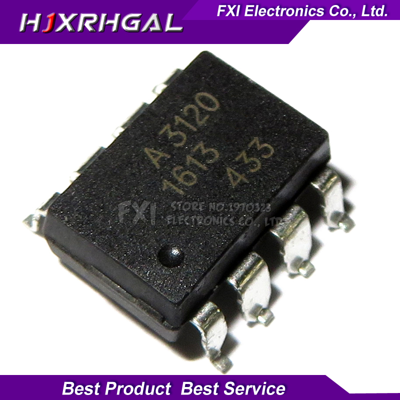 10PCS HCPL3120 HCPL-3120 SOP8 SOP A3120 SMD New Original