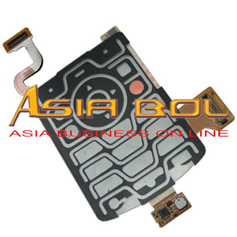 New LCD Keypad Flex Cable With Microphone Ribbon Replacement Parts For RAZR V3i V3t V3e