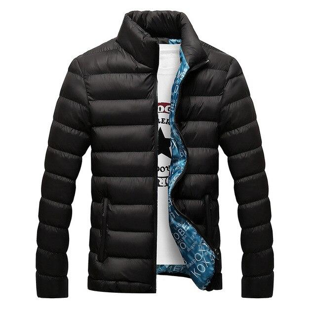 Новинка 2019, зимние куртки, парка для мужчин, осенне-зимняя теплая верхняя одежда, брендовые тонкие мужские пальто, Повседневная ветровка, ст...