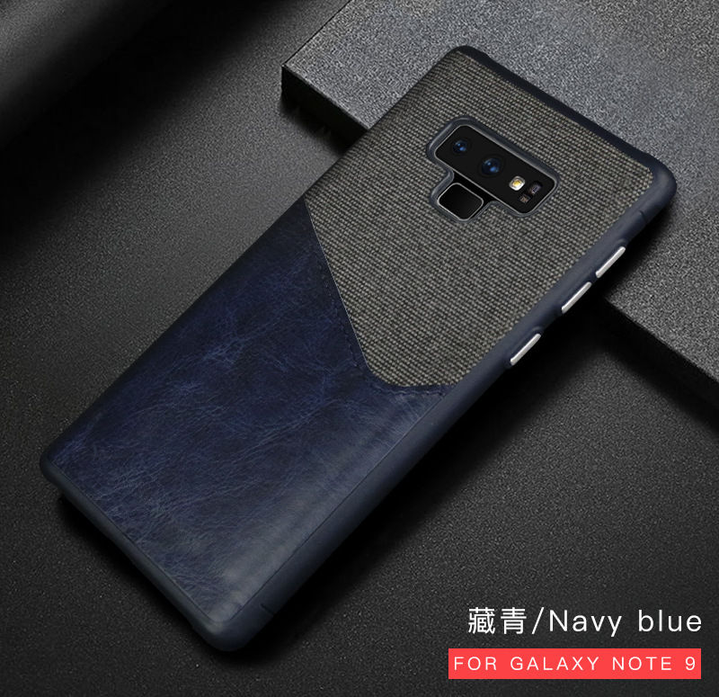 Business Case For Samsung S9 Plus S9 Note9 Case Back Cover Shockproof Leathre Fabric Case Coque For Galaxy S9 Note 9 S9plus Case