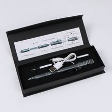 Светодиодный стробоскоп перезаряжаемая тактическая ручка Многофункциональная Защита для самозащиты товары для выживания магнитный переключатель управления дизайн EDC инструмент