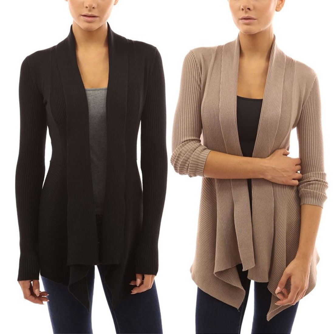 Compare Prices on Knit Draped Cardigan- Online Shopping/Buy Low ...