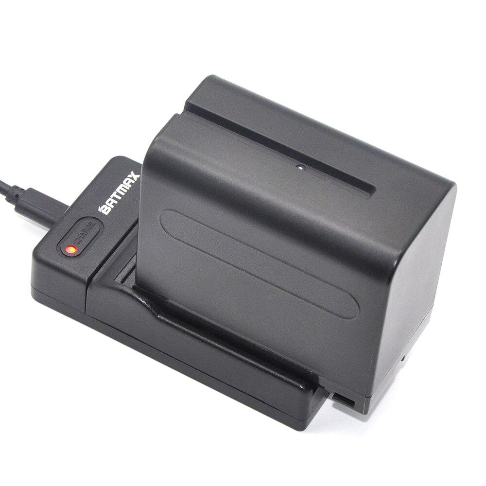 2pcs 7.2V 7200mAh NP-F970 NP-F960 NPF960 NP F970 Bateria batteries +USB Charger for Sony NP-F550 NP F770 F750 F960 F970 4pc 7200mah np f960 np f970 f970 battery packs lcd ultra fast dual charger plug kits for sony np f550 np f770 np f750 f960 f970