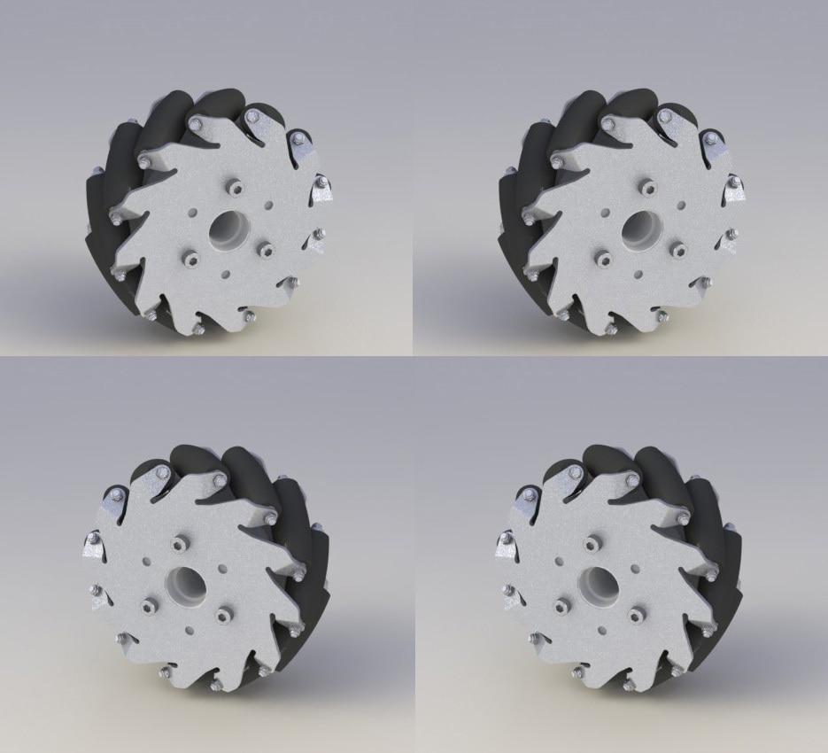"A set of 127mm Aluminum Mecanum Wheels Set Basic ( 2 Left, 2 Right)  14198 freedom a documentary history of emancipation 1861a€""1867 2 volume set"