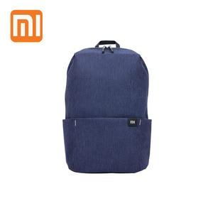XIAOMI الملونة حقيبة ظهر صغيرة 10L 8 ألوان حقائب للنساء الرجال صبي فتاة Daypack حقيبة المياه مقاومة خفيفة الوزن المحمولة عارضة