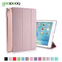 Slim Silk Smart Case For Ipad Pro 9 7 Inch Flip Ultra Thin Leather Stand Cover