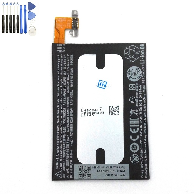 Original 1800 mAh batería de polímero para HTC uno mini m4 601 s / e / n 603e batería del teléfono BO58100