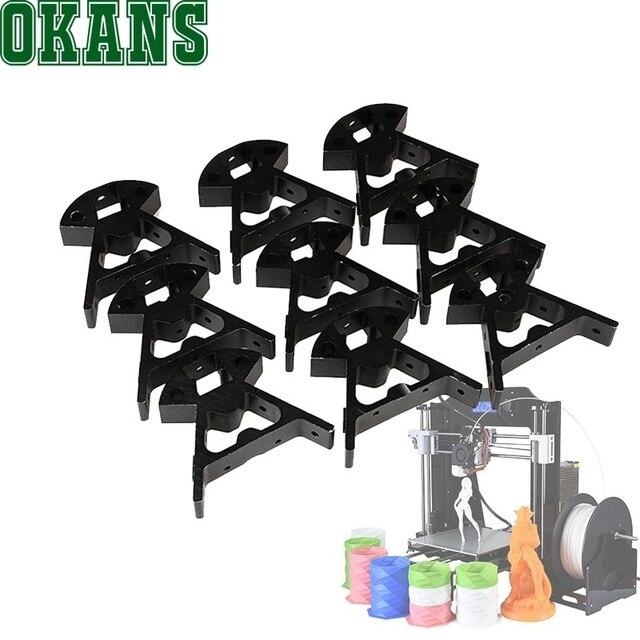 Best Photo Printer 2020 9Pcs Kossel K800 Mini 2020 3D Printer Aluminum Frame RepRap