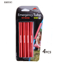 Naturehike factory sell 4 pcs aluminum alloy tent pole repair tube single rod mending pipe tent Emergency Tube tent accessories