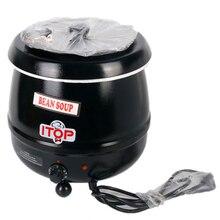 цены Winter 10L Hot Drink Pot Soup Warmer Kettle 110V/US plug 220V/EU plug Wet Heat Boiler Adjustable Temperature Kitchen Tools