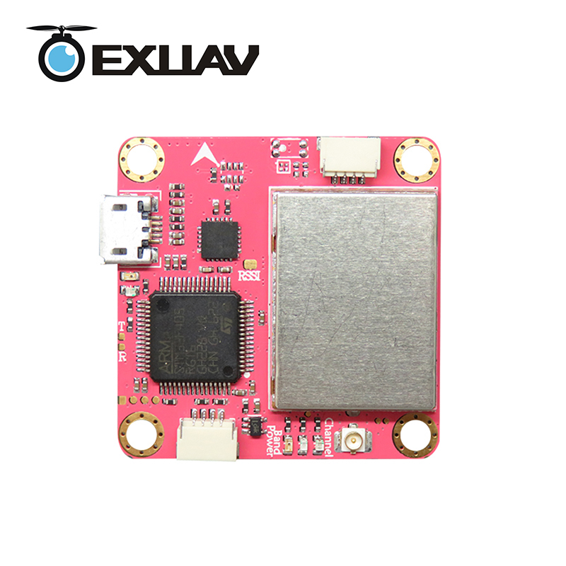 EXUAV Flytower pro f4 FC board layer with OMNIBUS Betaflight OSD 25/200/400MW 48CH for RC Racing drone DIY mini toys omnibus f3 betaflight