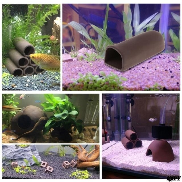 Аквариумный аквариум Shelter керамические креветки Spawn Live скрыть орнамент разведение