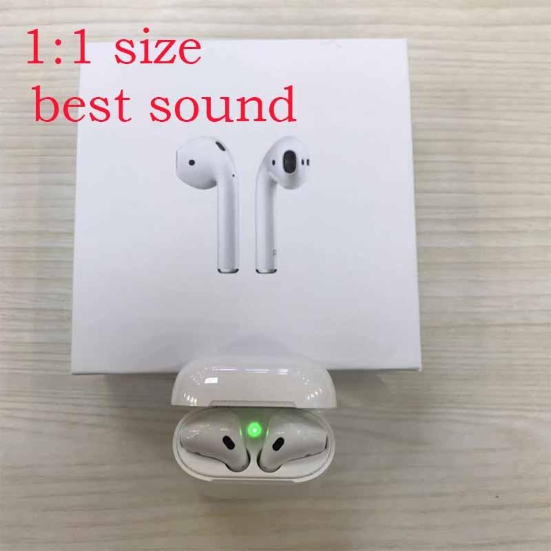 Analytical Original Ap Tws 1: 1 Mini Air Mx Wireless Bluetooth 5.0 Super Bass Ear Buds For Apple Iphone Xiaomi Pk I21 I20 Tws W1 Chip Pods